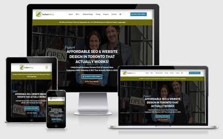 Desktop Mobile Tablet Responsive Website Design